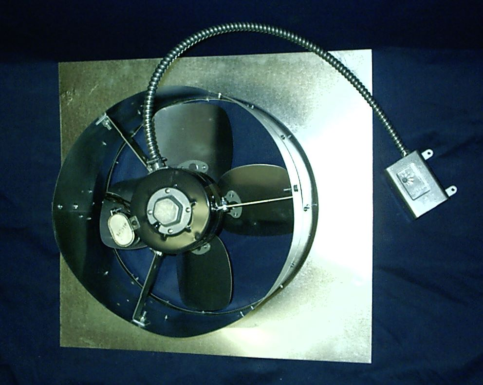 Vertically mounted Jet Fan jf707 gwos (Gable Wall Fan w/o shutter)